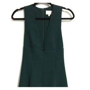 Wilfred Green low Neckline mini dress